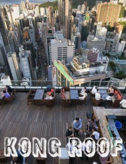HONG KONG. ROOFTOP BARS