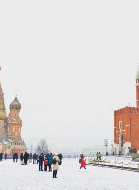 MOSCÚ EN INVIERNO: LA PLAZA ROJA