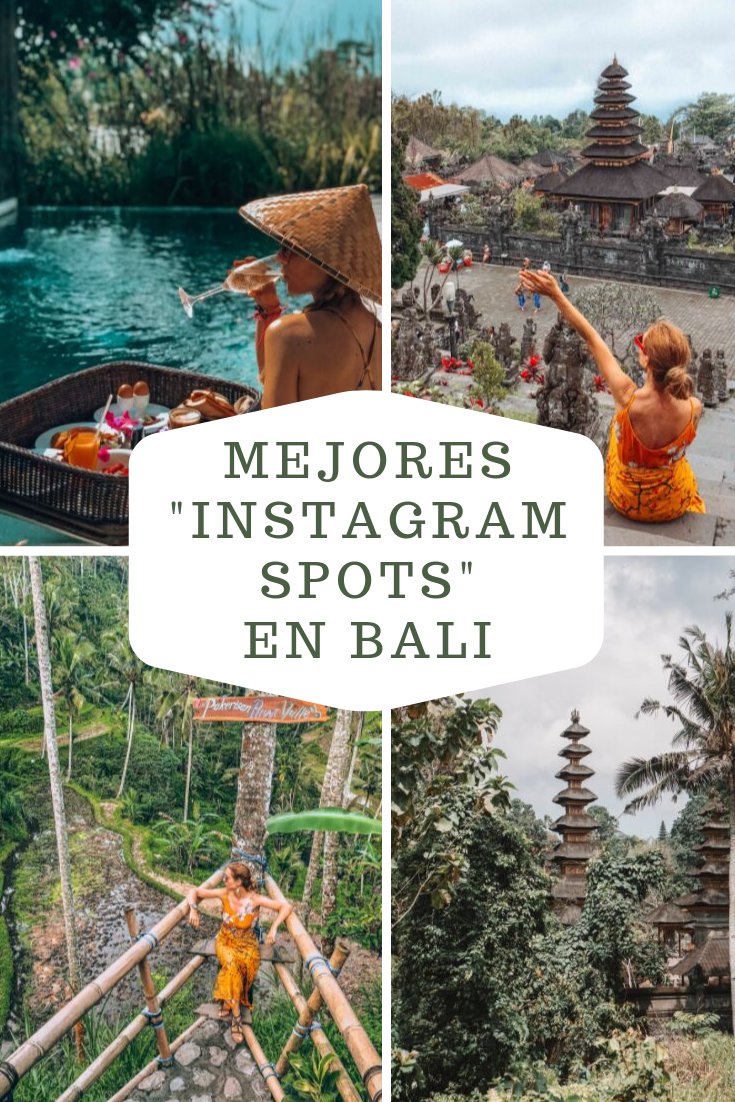 Mejores Instagram Spots en Bali