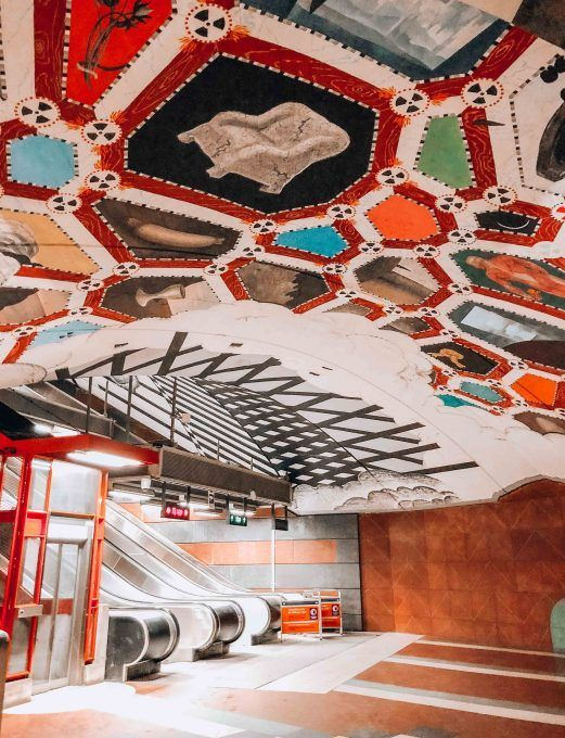 Discover Stockholm: The City by boat and the Art in Metro Stations