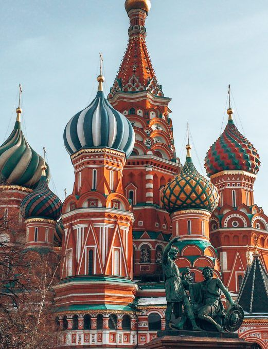 Most Instagrammable places in Moscow