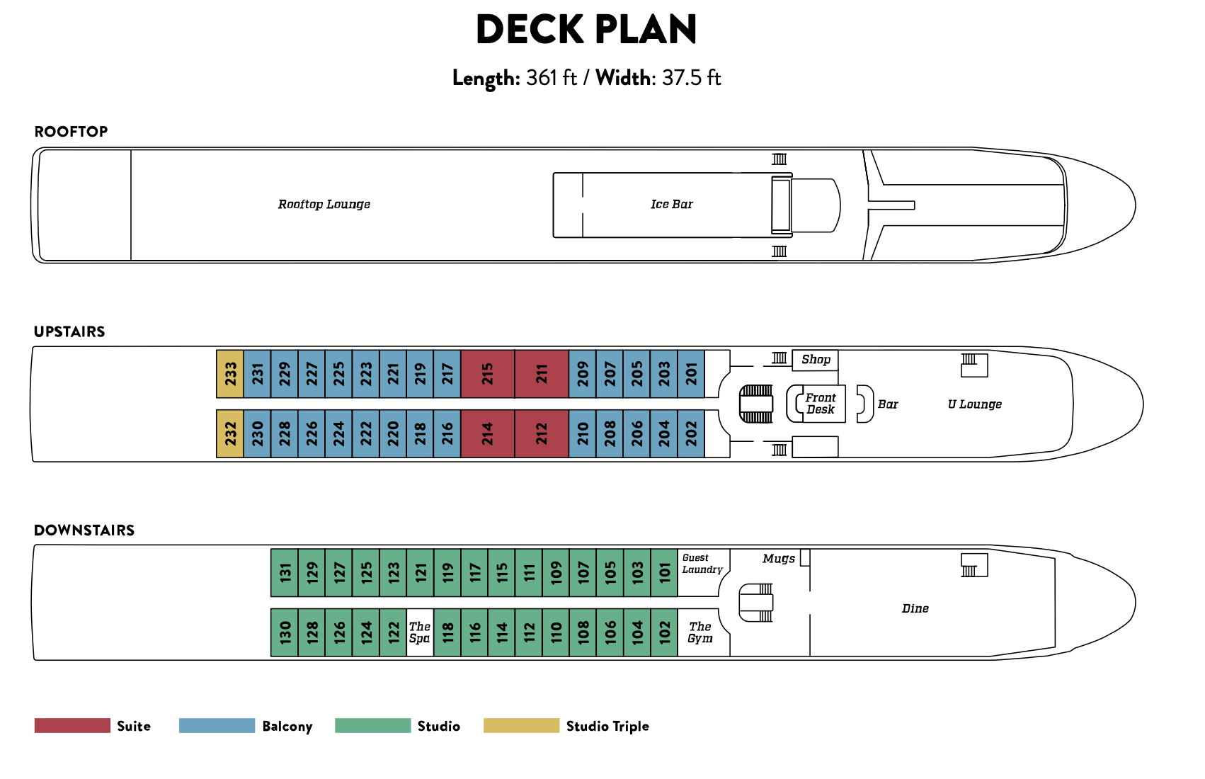 deck plan ubyuniworld