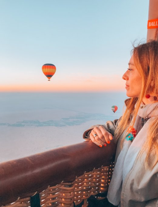 Dubai: Hot air balloon ride in the Desert