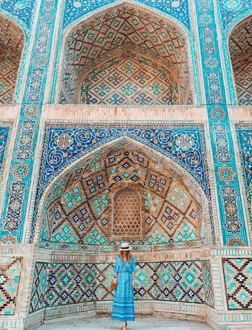 Uzbekistan: Bukhara travel guide. Includes map of locations.