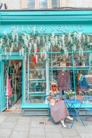 cute colorful shop