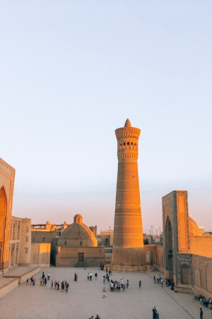 Terraza Chasmai Mirob Bukhara Uzbekistan